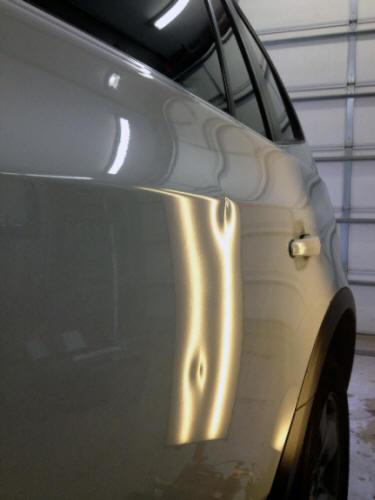 BMW X3 door dents Plymouth MN Dent Werks PDR & Retail prices for PDR (paintless dent repair) in Minnesota at Dent ...