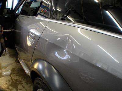 Body shop repair or PDR paintless dent removal repair? What